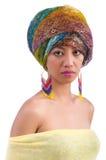 Donna giapponese Fotografia Stock