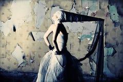 Donna gotica Fotografia Stock Libera da Diritti