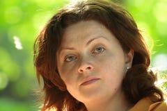 Donna graziosa Fotografia Stock Libera da Diritti
