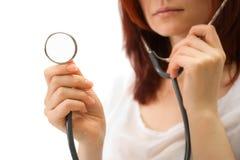 Donna il medico Immagini Stock Libere da Diritti