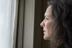 Donna impoverita Fotografia Stock Libera da Diritti