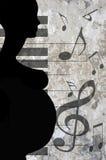 Donna incinta illustrazione di stock