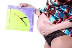 Donna incinta 40 Fotografie Stock Libere da Diritti