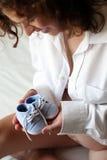 donna incinta Fotografie Stock