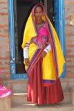 Donna India di Lambadi del nomade Fotografia Stock