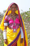 Donna India di Lambadi del nomade Fotografia Stock Libera da Diritti