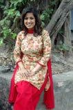 Donna indiana Fotografia Stock