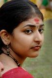Donna indiana Immagine Stock