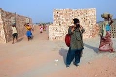 Donna indiana Fotografie Stock