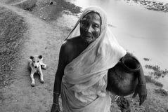 Donna indiana Fotografia Stock Libera da Diritti