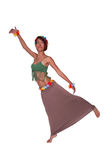 Donna indiana americana Fotografia Stock