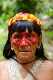 Donna indiana anziana Fotografie Stock