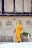 Donna indiana della quarta casta Shudras in sari tradizionali Immagini Stock