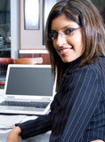 Donna indiana di affari Fotografia Stock Libera da Diritti