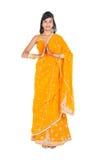 Donna indiana tradizionale Fotografie Stock