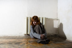 Donna infelice Immagine Stock Libera da Diritti