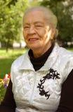 Donna invecchiata Fotografia Stock Libera da Diritti
