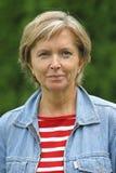 Donna invecchiata centrale fotografia stock libera da diritti