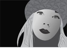 Donna in inverno Immagine Stock Libera da Diritti