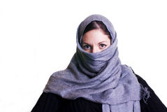 Donna islamica Fotografia Stock