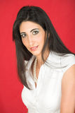 Donna italiana adulta Fotografia Stock Libera da Diritti