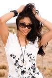 Donna latina attraente. Immagini Stock Libere da Diritti