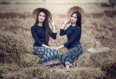 Donna locale tailandese Immagine Stock Libera da Diritti