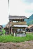 Donna lunga del collo in Tailandia Immagine Stock Libera da Diritti