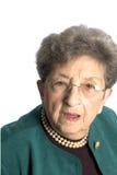 Donna maggiore Fotografia Stock Libera da Diritti