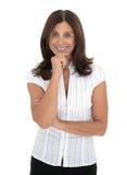 Donna maggiore di affari fotografia stock libera da diritti