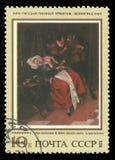 Donna malata e un medico da Jan Steen immagine stock libera da diritti
