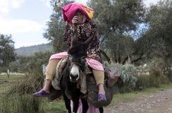 Donna marocchina Fotografie Stock Libere da Diritti