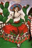 Donna messicana Fotografia Stock