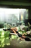 Donna moderna Immagine Stock
