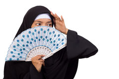 Donna musulmana Immagini Stock