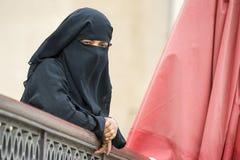 Donna musulmana Fotografie Stock