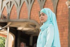 Donna musulmana Immagine Stock Libera da Diritti