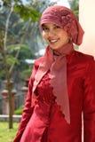 Donna musulmana di affari Fotografie Stock Libere da Diritti