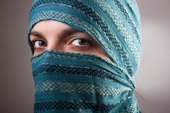 Donna musulmana europea Immagine Stock