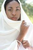Donna musulmana: foulard Immagini Stock Libere da Diritti
