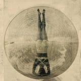 Headstand di yoga Fotografia Stock Libera da Diritti