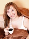 Donna nella base Fotografia Stock Libera da Diritti
