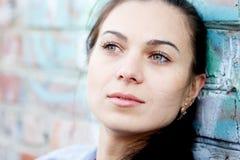 Donna nella depressione Immagine Stock Libera da Diritti