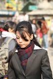Donna nepalese Fotografie Stock