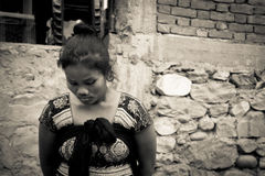 Donna nepalese, Chitwan, Nepal Immagini Stock Libere da Diritti