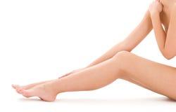 Donna nuda in buona salute fotografie stock