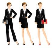 Donna o professore di affari Immagini Stock Libere da Diritti