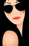 Donna in occhiali da sole Immagine Stock Libera da Diritti