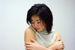 Donna orientale sensibile Fotografie Stock