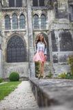 Donna in parco Fotografia Stock Libera da Diritti